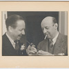 Robert Benchley and Marc Connelly smoking