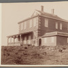 4 views and a plan of Dr. Allen's summer house at Chemulpo