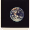 Full Disk Earth, Apollo 17, 1972, Harrison Schmitt, #1A