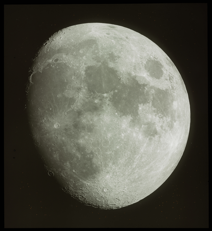 Transparencies of the moon (from negatives made at the Lick Observatory)