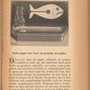 Faire nager sur l'eau un poisson en papier, p. 79