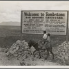 Sign entering Tombstone, Arizona