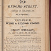 New York City directory, 1825/26
