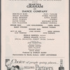Martha Graham and Dance Company at The Broadway Theatre