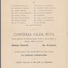 Grand vocal and orchestral concert given by Countess Gilda Ruta
