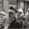 N.Y.City, Volunteers for America, Santas on bus going to their assigned stations