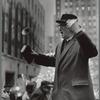 Street Preacher, N.Y. City [man holding a book]