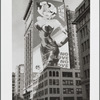 """No Glove No Love"" of a voluptuous blond painted by Mike McNeilly on a large billboard advertisement on 315 Park Avenue?"