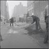 Street paving. New York, NY