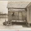 Home of tenant farmer near Newport, Oklahoma.