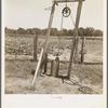 Well, Center County, Oklahoma, belonging to tenant farmer.