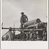 Negro tractor driver. Aldridge Plantation, [near Leland] Mississippi