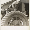 The tractor driver is colored. His wages when he works is one dollar and fifty cents a day as long as there is daylight. Aldridge Plantation, [near Leland] Mississippi