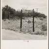 Sign near Saint David, Arizona.