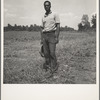 One of the farmers at the Delta cooperative farm. Hillhouse, Mississippi.