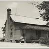 Home of sharecropper family near Chesnee, South Carolina