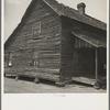 White sharecropper's house near Gaffney, South Carolina