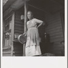 Grandmother of sharecropper family near Chesnee, South Carolina