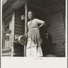 Grandmother of sharecropper family near Chesnee, South Carolina