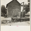 Well and old plantation smokehouse. Chesnee, South Carolina.