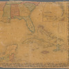 Colton's map of the United States of America, the British provinces, Mexico and the West Indies: showing the country from the Atlantic to the Pacific Ocean