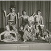 Shogola Oloba dance troupe with Asadata Dafora (front, center) and Esther Rolle (front, right)