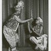 Asadata Dafora and Esther Rolle in an unidentified production by the Shogola Oloba dance troupe