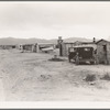 Cotton picker's camp, Salt River Valley, Arizona. For many refugees from the Southwest, Arizona is a stopping point on the way to California, where money can be made during the cotton harvest with which to continue the journey