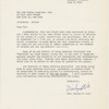 Letter from Mrs. George E. Cole