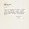 Letter from H. F. Damon, Jr.