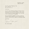 Letter from Mrs. Gene Connor