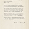 Letter from Irene S. Forrest