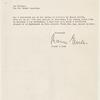 Letter from Rainer Esslen