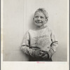 Migrant child in Shafter camp, Farm Security Administration. California