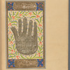 "Hand (""The Five"") of the Prophet, that is ahl al-bayt, fol. 61v"