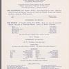Ballet Society program at the Children's Center Theatre on February 18, 1947