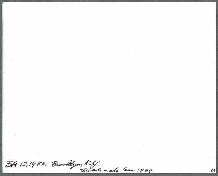 on 2/13/1952