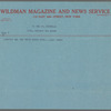 Wildman Magazine & News Service