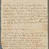 Letter from Robert Burns to Robert Cleghorn