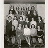 Teenage Elaine Stritch with class members