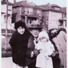 Young Elaine Stritch with family members