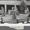 Japanese bugaku dancers performing at New York City Ballet (Tashun-raku 10)