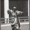 Japanese bugaku dancers performing at New York City Ballet