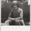 Douglas, Georgia. South Georgia tobacco sharecropper during the tobacco auction.