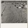 Farm Security Administration (FSA) migratory labor camp (emergency). Calipatria, Imperial Valley, California