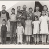 Brawley, Imperial Valley. In Farm Security Administration (FSA) migratory labor camp. Family father, mother and eleven children originally from Mangrum, Oklahoma. See 19201.