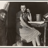 Calipatria, Imperial Valley, In Farm Security Administration (FSA) emergency migratory labor camp. Daughter of ex-tenant farmers on thirds and fourths in cotton. Had fifty dollars when set out ...