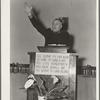 Preaching Salvation. Salvation Army, San Francisco, California.