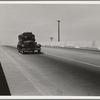 Between Tulare and Fresno. Overpass on U.S. 99. (See general caption.) California