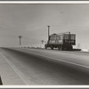 Between Tulare and Fresno. Overpass on U.S. 99. California. See general caption